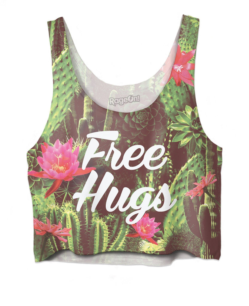 Free Hugs Crop Top - SEND IT and Do It for State!