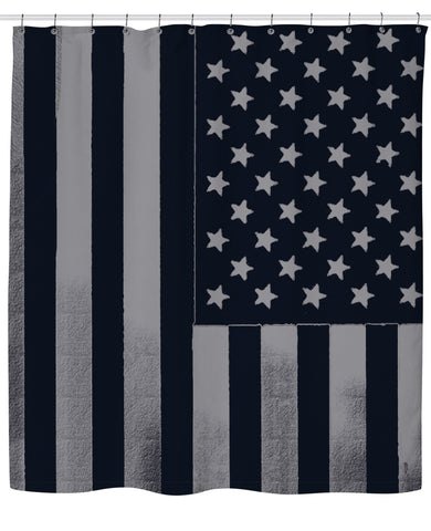 Americana Shower Curtain - SEND IT and Do It for State!