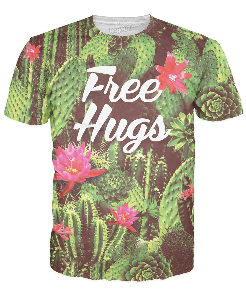 Free Hugs T-Shirt - Men's & Women's Clothing and Fashion