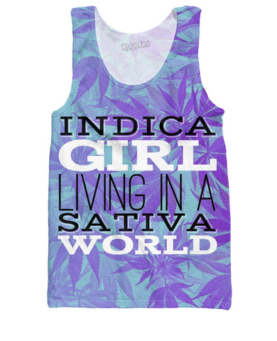 Indica Girl Tank Top - SEND IT and Do It for State!