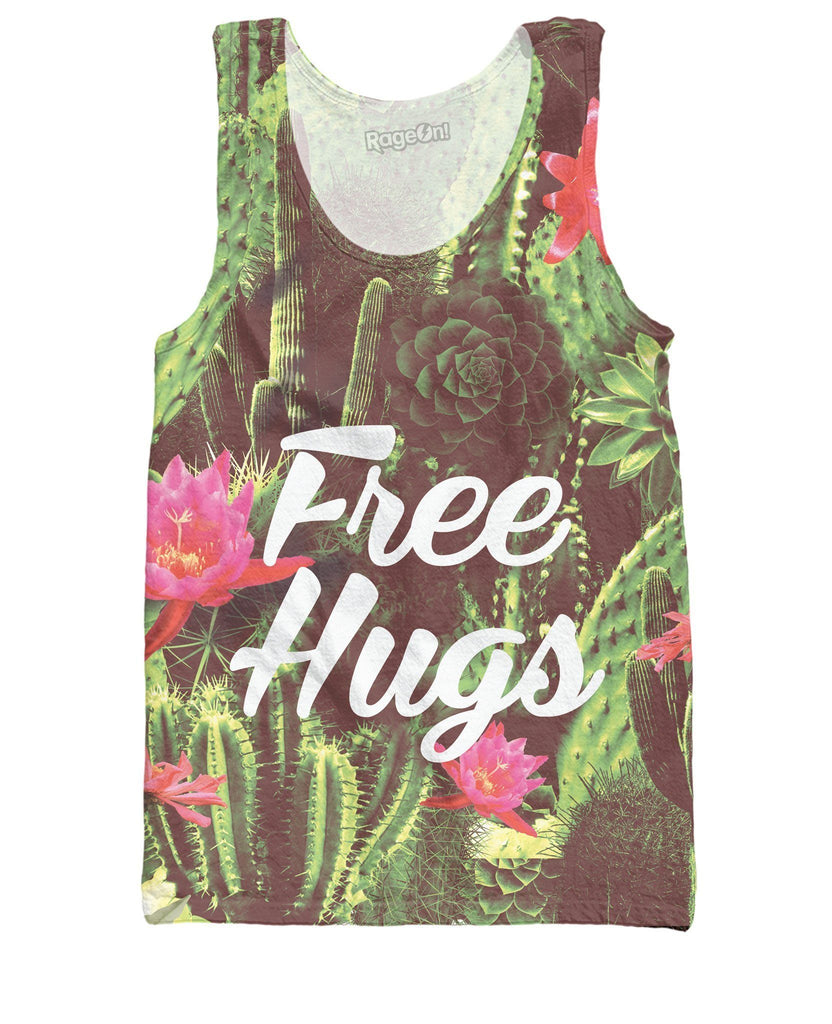 Free Hugs Tank Top - SEND IT and Do It for State!