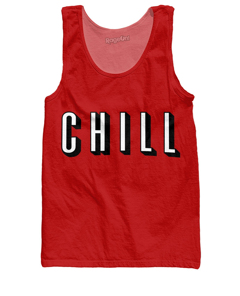 Chill Tank Top - SEND IT and Do It for State!