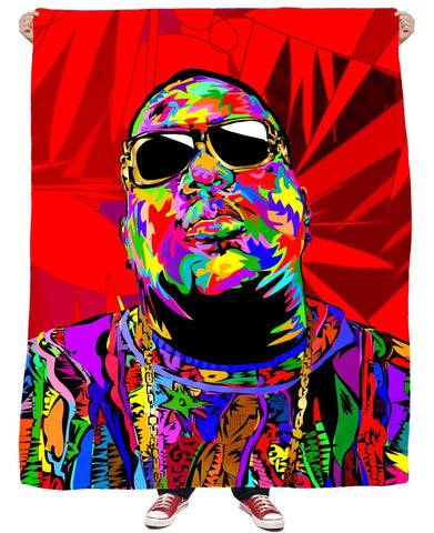 Biggie Shades Fleece Blanket - SEND IT and Do It for State!