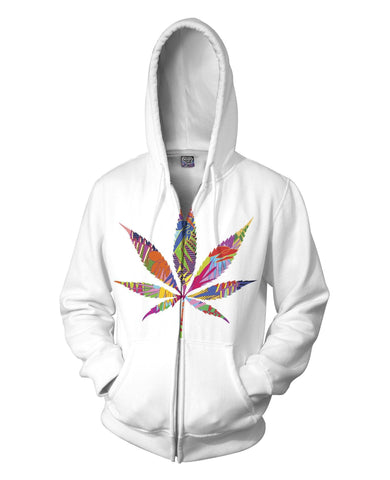 Weed Leaf Hoodie - SEND IT and Do It for State!