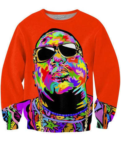 Biggie Shades Sweatshirt - Men's & Women's Clothing and Fashion