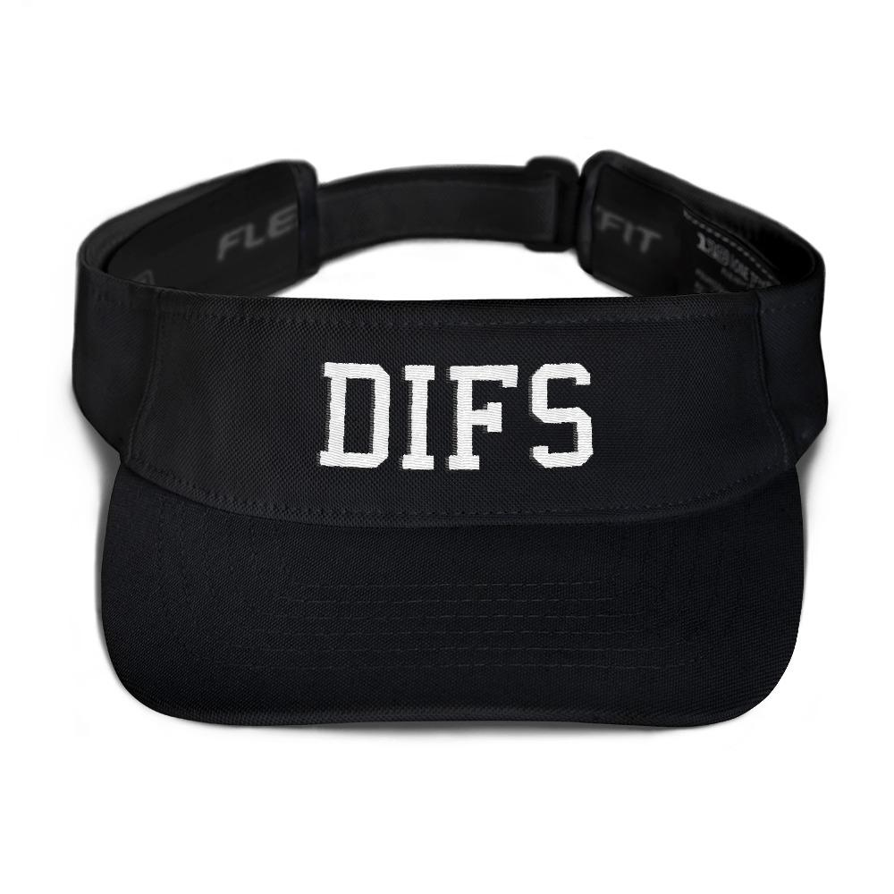 DIFS Flexfit 8110 Visor - SEND IT and Do It for State!