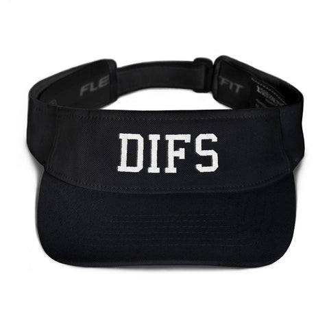 DIFS Flexfit 8110 Visor - Men's & Women's Clothing and Fashion