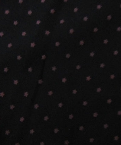 Black Polka Dot Blouse- Closeup