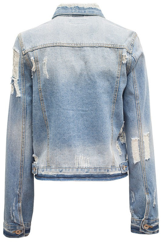 On the Run Denim Jacket