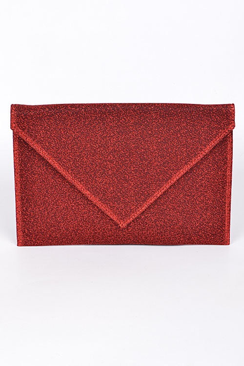 Metallic Envelope Clutch