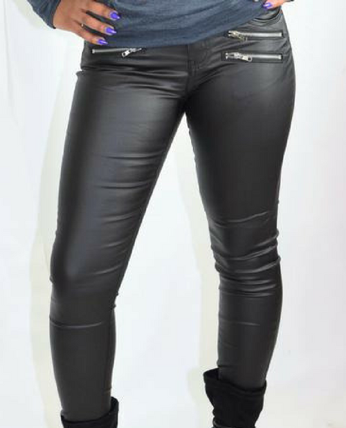 Rock Life 3 Zip Pocket Skinny Jeans