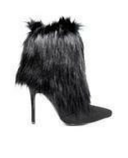 Queen Fur Ankle Bootie