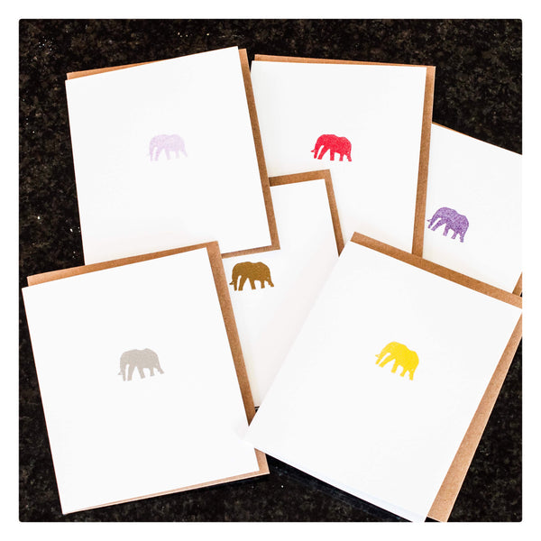 ELEPHANT SET OF 6