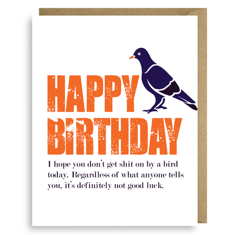 "HAPPY ""BIRD-DAY"""