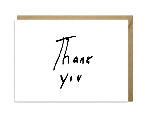 HANDWRITTEN THANK YOU 6-PACK