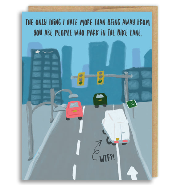 BIKE LANE LOVE