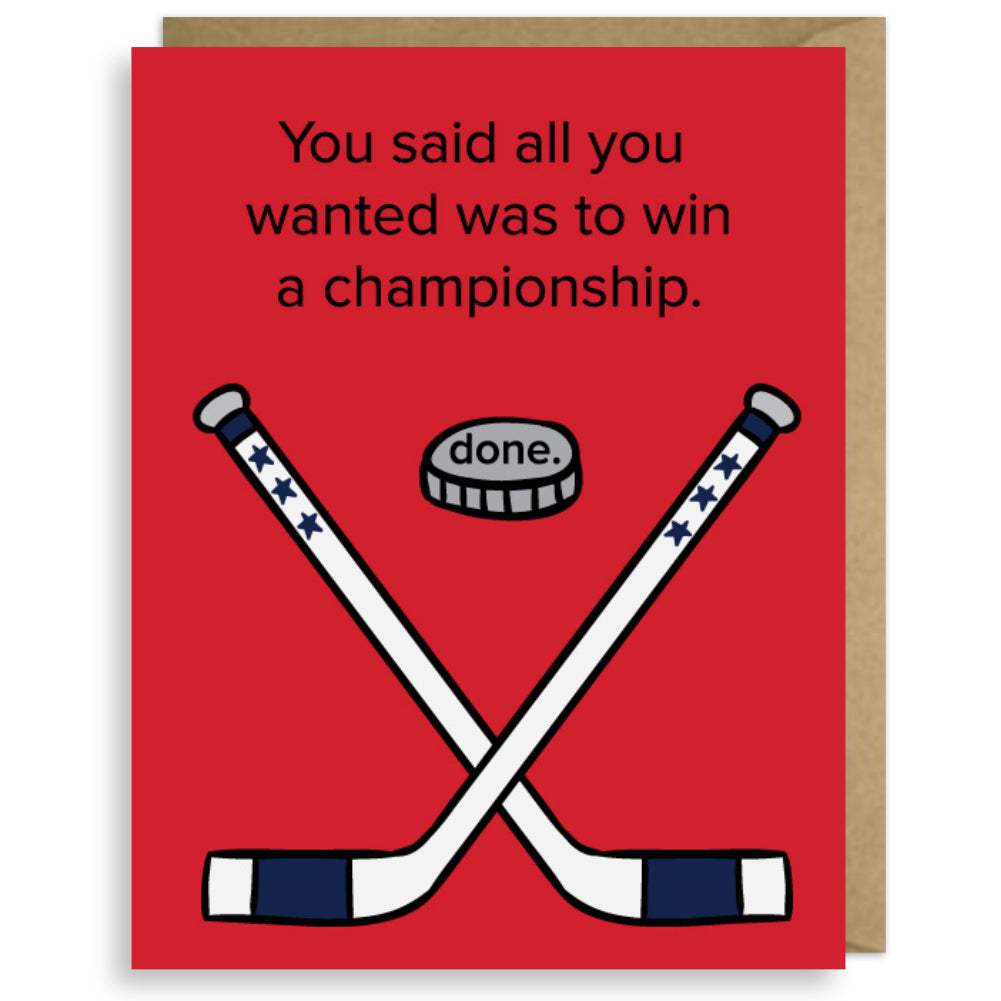 HOCKEY CHAMPS