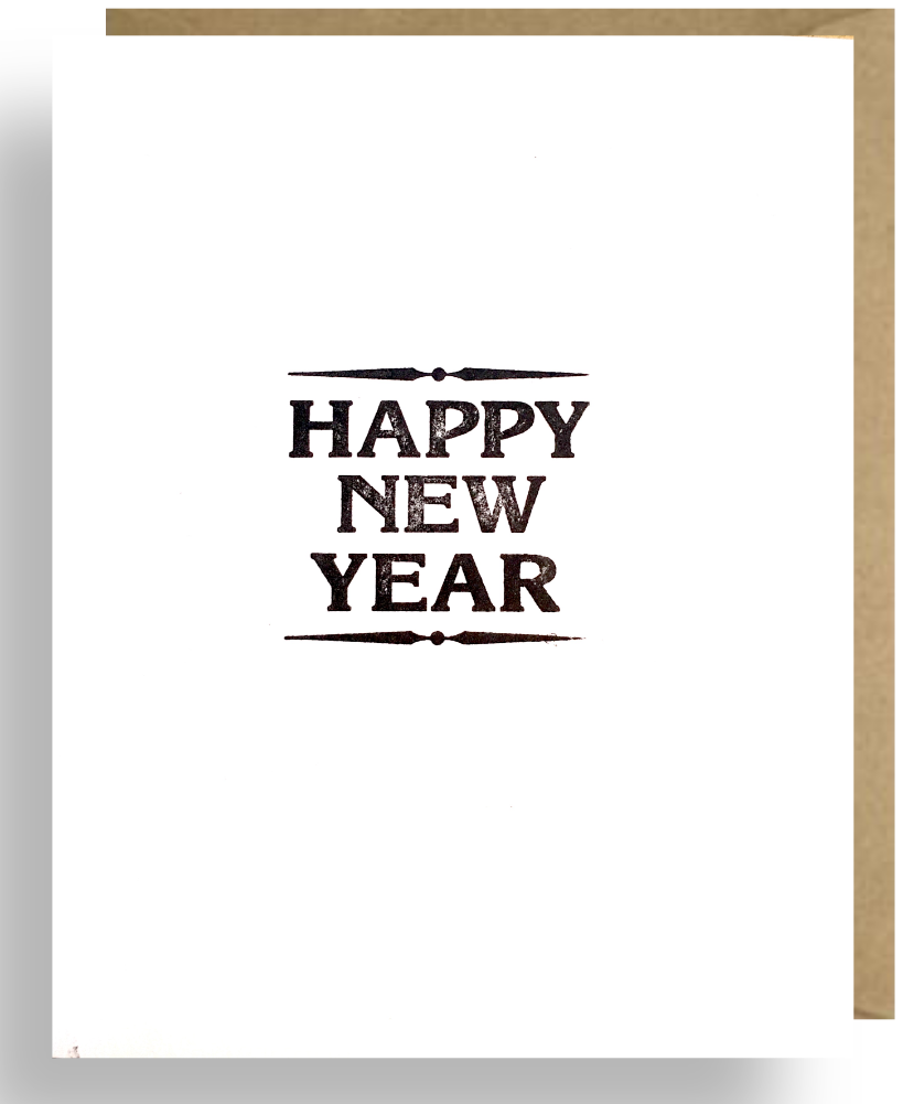 HAPPY NEW YEAR – Second Story Cards