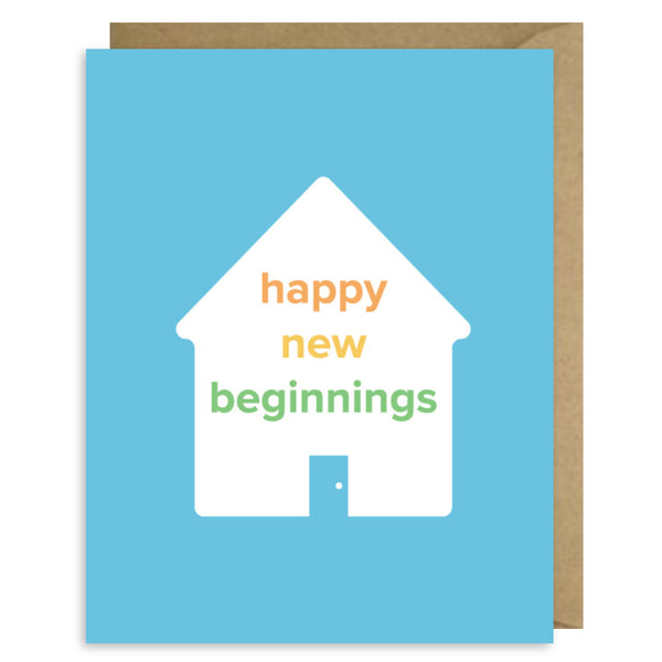 HAPPY NEW BEGINNINGS