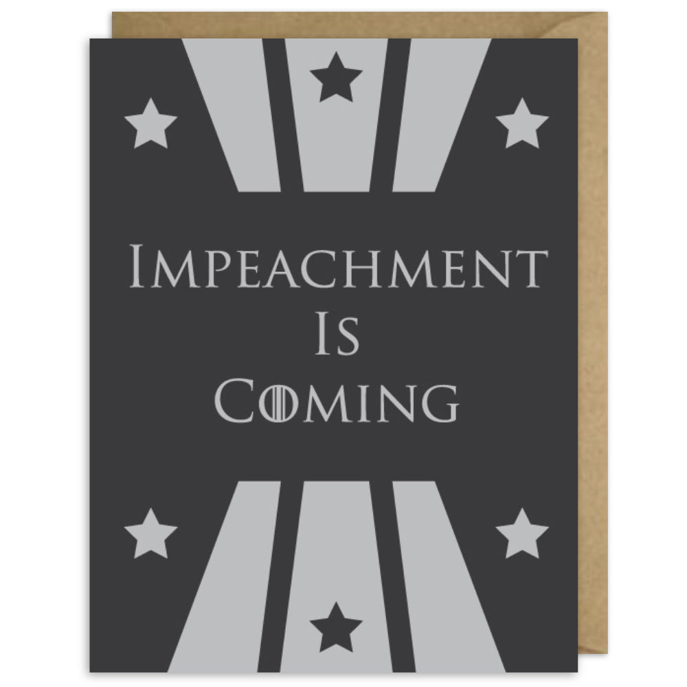 IMPEACHMENT IS COMING
