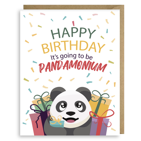 BIRTHDAY PANDAMONIUM