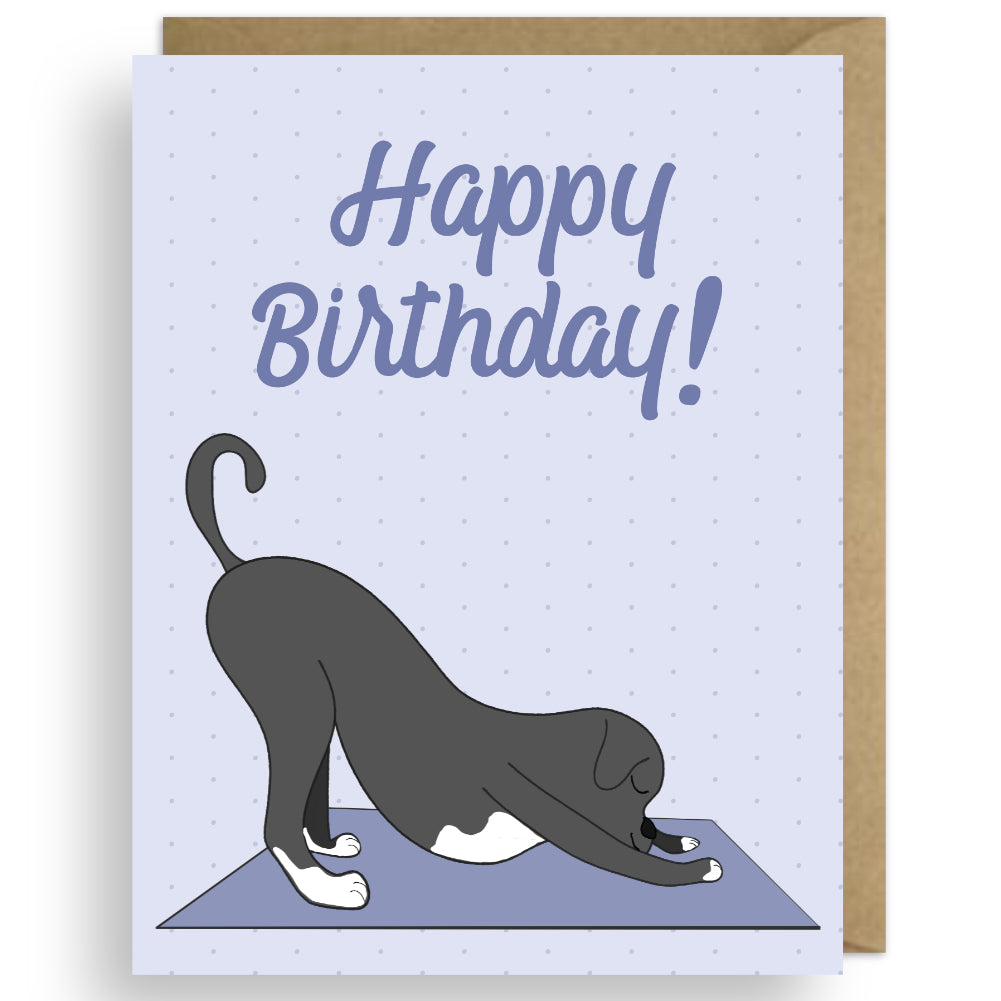 DOWNWARD DOG BIRTHDAY