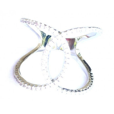 u201cFANCY TWISTu201d RING