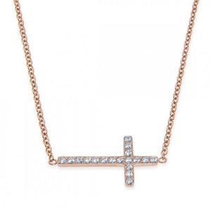 """CROSS"" NECKLACE - Princess J. Jewelry"