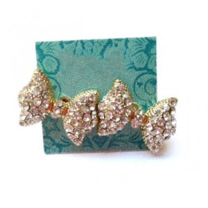 PRINCESS BOW EARRINGS - Princess J. Jewelry