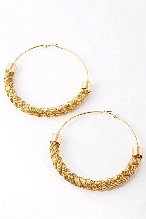 JOCELYN HOOPS - Princess J. Jewelry