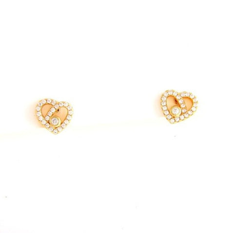 PRINCESS HEART EARRING - Princess J. Jewelry