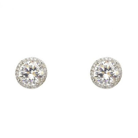 """JESSIE ROUND"" EARRING - Princess J. Jewelry"