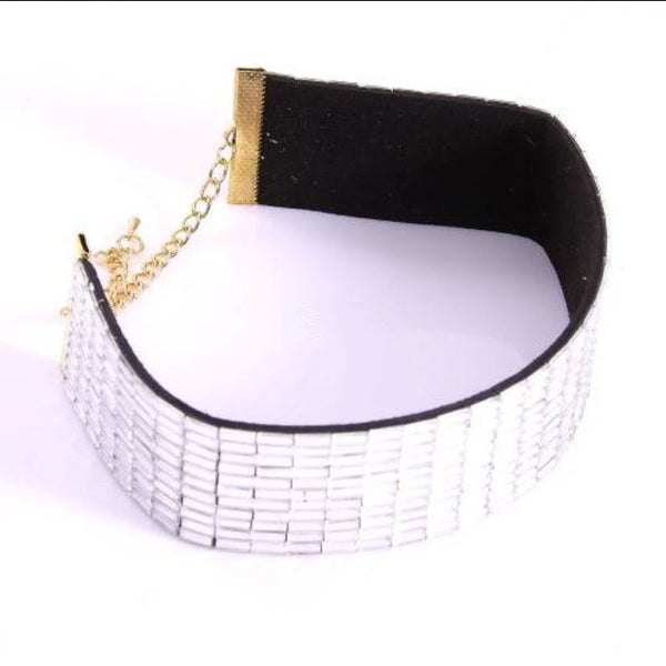 DIMINUTOS ESPEJOS CHOKER - Princess J. Jewelry