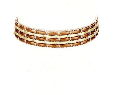 BAMBOO CHOKER - Princess J. Jewelry