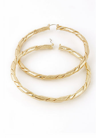 MONA HOOPS - Princess J. Jewelry