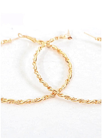 ARIEL HOOPS - Princess J. Jewelry