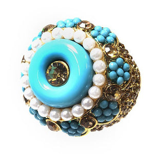 PRINCESA BRIONA TURQUOISE RING - Princess J. Jewelry