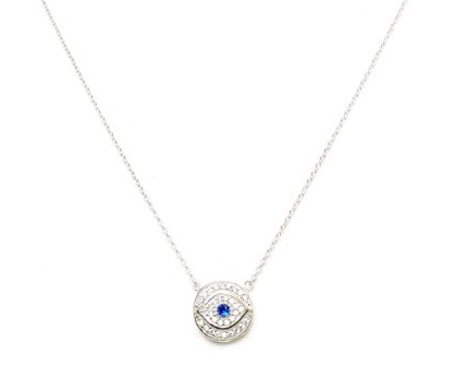 """AVA"" STERLING SILVER NECKLACE - Princess J. Jewelry"