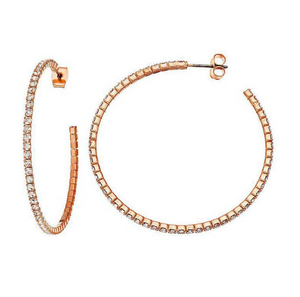 BAD GAL HOOPS - Princess J. Jewelry