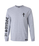21 Savage long sleeve gray
