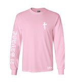 21 Savage long sleeve pink