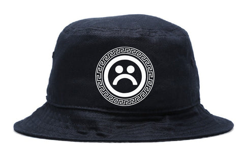 SAD BOYS SCROLL BUCKET HAT - dopepremium