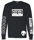 SAD BOYS MIXTAPE LONG SLEEVE SHIRT - dopepremium