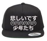 SAD BOYS JAPANESE SNAPBACK HAT - dopepremium