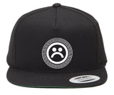 SAD BOYS SCROLL SNAPBACK HAT - dopepremium