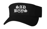 SAD BOYS OLD ENGLISH VISOR HAT - dopepremium
