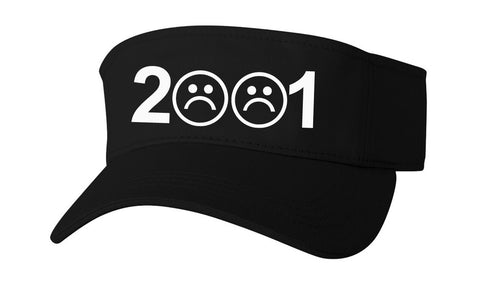 SAD BOYS 2001 VISOR HAT - dopepremium