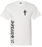 21 savage white t shirt