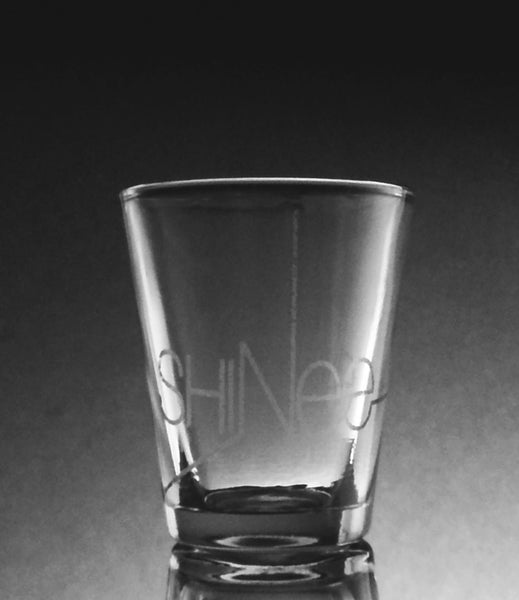 SHINee Etched 1.5 oz Shot Glass