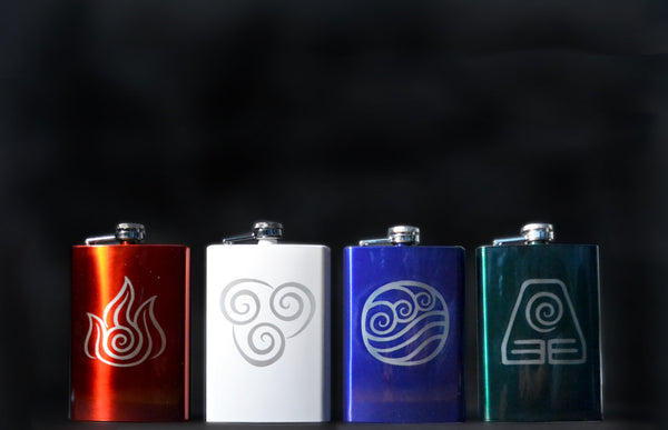 Avatar: The Last Airbender / Legend of Korra 8oz Flask